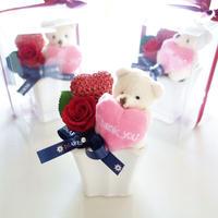 """Design Flower """"Thank you Bear""""  ☆《ありがとう》を伝えるくまさんアレンジ"""