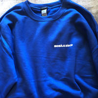 (SWEAT) mobiledisco SICK HOUSE -Blue-  L