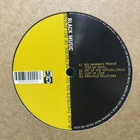 "(12""/ used) Black Music ‎/  Black Theories On The Network Of Relations  <deep house>"