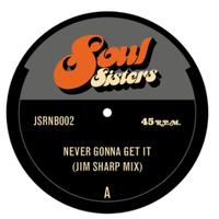 "(7"") JIM SHARP / NEVER GONNA GET IT/IT ALWAYS SEEMS TO GO  <edit / HIPHOP>"