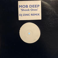 "(12""/ USED) MOBB DEEP / Shook Ones DJ ZINC  <rap / d'n'b>"