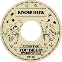 "(7"") AUDIO TWO / Top Billin' <HIPHOP / RAP>"