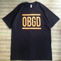 """(T-shirts) OBRIGARRD """"OBGD"""" Tee  -Black-"""
