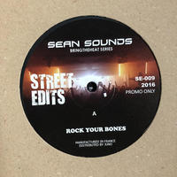 "(12""/ used) Sean Sounds / Bringtheheat Series Label: Street Edits    <soul / Re edit>"