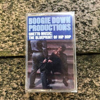 (TAPE) Boogie Down Productions ‎/ Ghetto Music: The Blueprint Of Hip Hop   <HIPHOP / RAP>