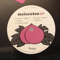 """(10"""") ピーチ岩崎 PEACH IWASAKI / melocoton EP   <breakbeats / house / hiphop>"""