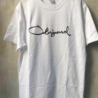 (T-shirts) OBRIGARRD Logo Tee   white - L -