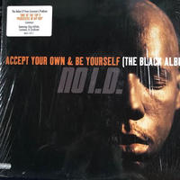 (LP/ USED) NO I.D. / Accept Your Own & Be Yourself(The Black Album) <hiphop / rap>