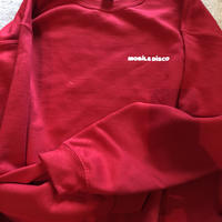 (SWEAT) mobiledisco SICK HOUSE -Red- XL