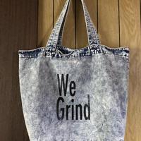 """(BAG) mobiledisco Chemical wash BAG """"We Grind"""""""