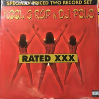 (2LP) Kool G Rap & D.J. Polo ‎/  Rated XXX  <HIPHOP / RAP / 新品未開封>