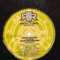 "(12""/ USED) LIQUID MEASURE featuring JOCELYN BROWN / Take Me Up  <house / soul / breakbeats>"