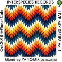 (MIXCD) DJ YANOMIX / Interspecies Live Mix vol.1  <mix / dancetracks / tribal>