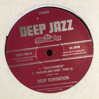 "(12""/ used) DEEP SENSATION / Five Track Extended Play   <house / jazzy>"