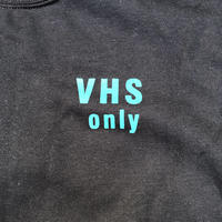 "(SWEAT) shoguntapes × mobiledisco ""VHS only"" BLACK  decibel limited color"