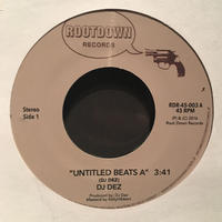 "(7"") DJ DEZ a.k.a.Andres / Untitle Beats    <HIPHOP/RAP>"