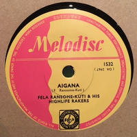 "(7"") Fela Ransome-Kuti & The Highlife Rakers / Fela's Special   <world / africa>"