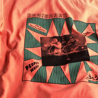 "(T-shirts) OBRIGARRD 7""jacket Tee NEON PINK"