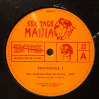 "(12""/ USED) Doc L Junior ‎/ Footnotes 3 <house / disco>"