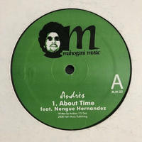 "(12""/ used) Andres / About Time  <house / beatdown>"