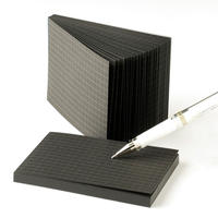 白いペンつき黒いメモ帳セット