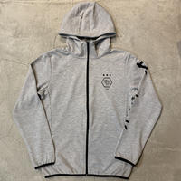 D19018《Dry Cotton Zip Hoodie》 C/# GRAY