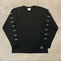 D19013《Sleeve Logo L Tshirt》 C/# BLACK