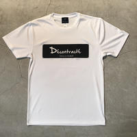 D18016《Dry Silky Touch Tshirt》C/#  WHT×BLK