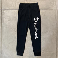 Dry Cotton Pants 19019 C/# BLACK