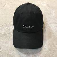 D18018《6panel  CAP》C/#BLACK