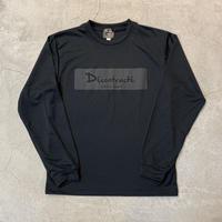 Dry Box Logo L Tshirt 19020 C/#  BLK×BLK