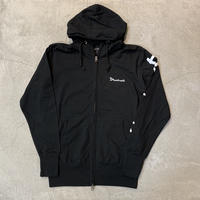 Light Zip Hoodie 19016 C/# BLACK
