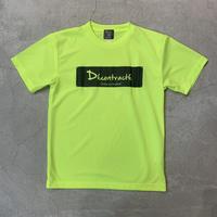Box Logo Dry Tshirt 16009 C/# NEON YEL×BLK