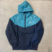 Nylon JKT 17021  C/# NAVY×L BLUE