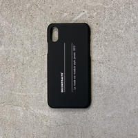 i Phone Case C/# BLK×WHT