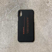 i Phone Case  C/# BLK×RED