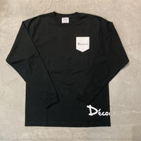 D19014《SIde Logo L Tshirt》 C/# BLACK
