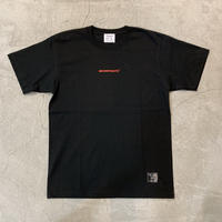 D19005《Mini Logo Tshirt》 C/# BLK×RED