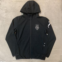 Dry Cotton Zip Hoodie 19018 C/# BLACK