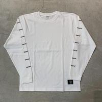 Sleeve Logo L Tshirt 19013 C/# WHITE