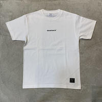 D19005《Mini Logo Tshirt》 C/# WHT×BLK