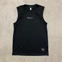 Dry Silky  Nosleeve shirt 20011 C/#  BLACK