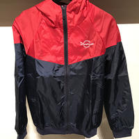 D17021《Nylon JKT》 C/# NAVY×RED
