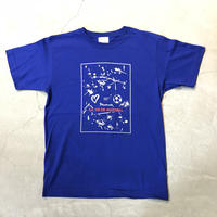 Paint T shirt 18014 C/# BLUE