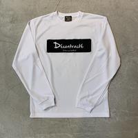 Dry Box Logo L Tshirt 19020 C/#  WHT×BLK