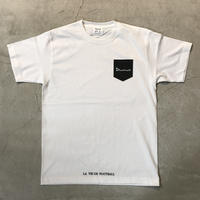 D18013《Pocket Print T shirt》C/# WHITE