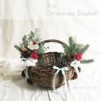 Christmas Basket:ホワイトプレート