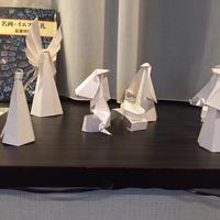 Origami プレゼーピョ(イエス生誕の馬小屋)