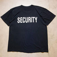 80's Vintage SECURITY S/S T-shirts セキュリティー 警備