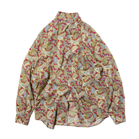 Stefanel / Italy Made Paisley Patterned LS Shirts
